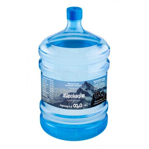 Alpokaqua eredendően lúgos kémhatású ásványvíz – 19 liter